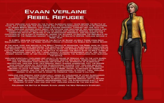 Evaan Verlaine character bio [New] by unusualsuspex