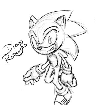 Sonic Sketch by unisonic