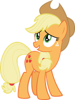 Applejack Shucks by Flizzick