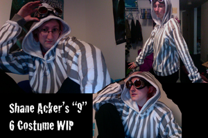 Shane Acker's 9: 6 Costume WIP by DislocatedPenguin