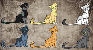 Cat Adopts IV O CLOSED by LunAdopts