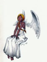 another angel by Daeg-Niht