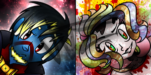 Notebook And Clock icons (For AgentMothy and I) by TVZRandomness