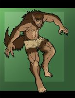 Werewolf TF [Commission] by Narubi2