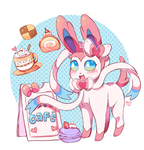 Sylveon Cafe by Amphany