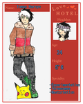 The Love Hotel: Tomas by Laughing-Sheepishly