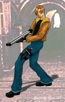 Leon from Resident Evil by andre4boys