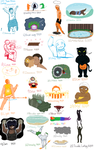100 Theme Challenge--Part 1 done :D by crysanthemum963