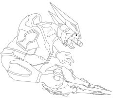 Halo 2 Speed Line Drawing by MarcusMcCloud100