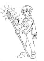 Elven Magic User by The-Great-RKL