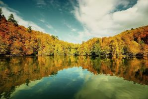 Turkey bolu yedigoller seven lakes by belkibirgun