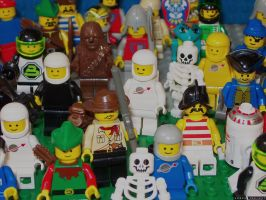 Lego-People-grill by halley