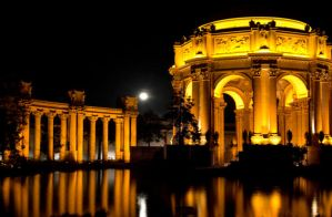 Palace of Fine Arts by Wilton-Wong