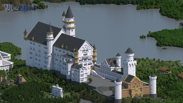 The Swan King's Castle [UHD] by RoqqR