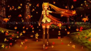 [MMD] Autumn is here... by MrMario31095