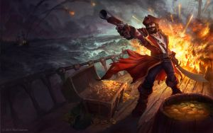 Gangplank Splash Art by Zirngibl