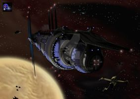 Far Shot Babylon 5 by greyback31