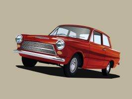 Ford Cortina by ahmednayyer