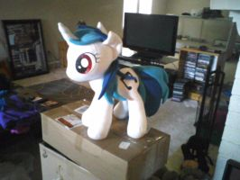 Vinyl Scratch plush by ponydeath