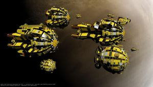 Yellowjacket Squadron by Reactor-Axe-Man