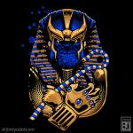 King Thanos Tut by jimiyo