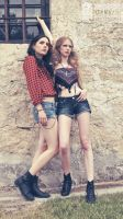Gypsy Fashion Editorial - Kat and Kim IV by defi-nation