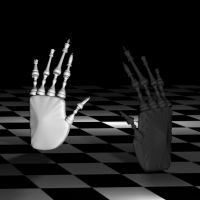 Chess hand of control by 7resurrectionvirtues