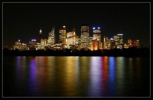 Colour of Sydney City by vreinz