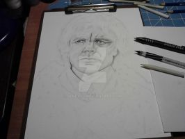 WIP 2 Tryion Lannister by jeni-art
