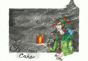Christmas Cake 0 by ZuniHorrendus