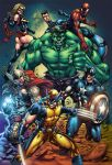 Avengers Colorsample by Mike Stefan by mikestefan