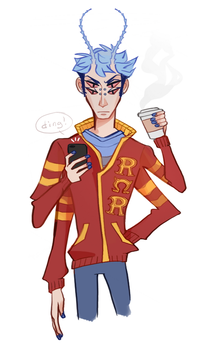 Javier Rios by CrystallizedTwilight