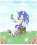 Sonic Adventure by muffin-mixer