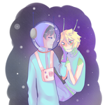 [South Park] Spaceman Craig x Alien Tweek [Creek] by N-0-R-A