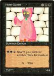 Horst-Guenter Magic Card by konfuse