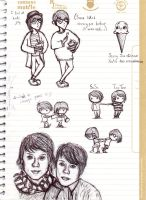 Tegan and Sara Doodle Dump 3 by maleth