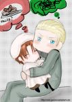 Chibitalia and Germany by omer-yaoi-love