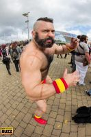 Zangief - Street Fighter by Paper-Cube