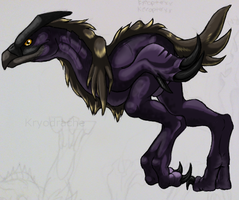 Demon Purple Chicken by Kryodrache