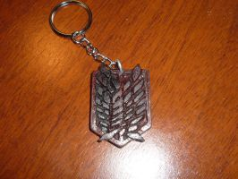 Survey Corps key chain (Shingeki no Kyojin) by Rodrazir