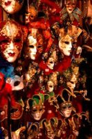 Venetian Masks by tumkosit