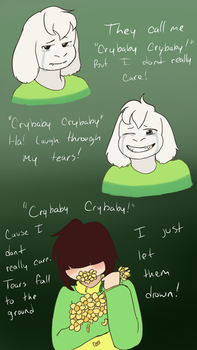 Crybaby (undertale spoiler) by Channydraws