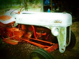 Vintage Ford Tractor III by HarleyQuinn2012