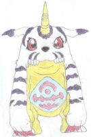 Gabumon by Kateana