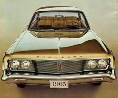 After the age of chrome and fins: 1965 Chrysler by Peterhoff3