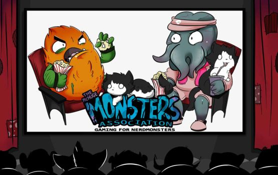 Monsters at the Movies- Commission by kidbrainer
