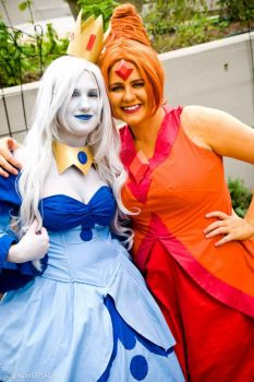 Ice Queen And Flame Princess - Unlikely Friends by penguinluv4ever