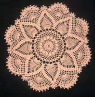 pineapple doily by ladytech