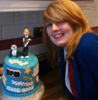 Me and my awesome birthday cake!! by Benisha1232