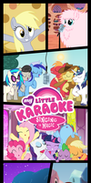 My Little Karaoke: Singing is Magic Kakemono by FloppyChiptunes